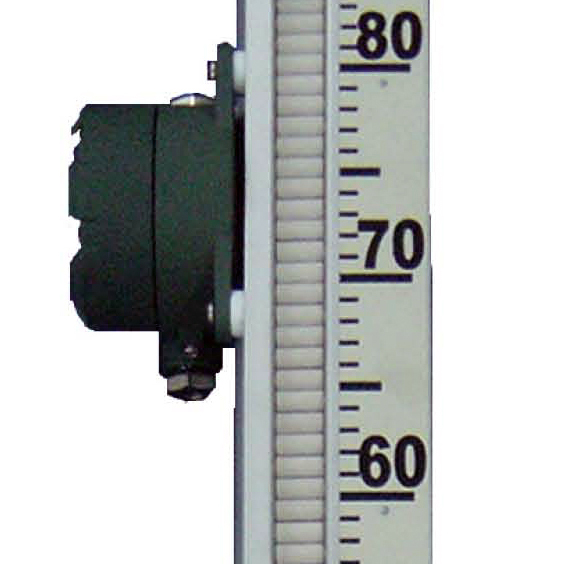 Magnetic level gauge (with switch)